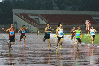 Vietnam No 1 at HCMC track and field meet
