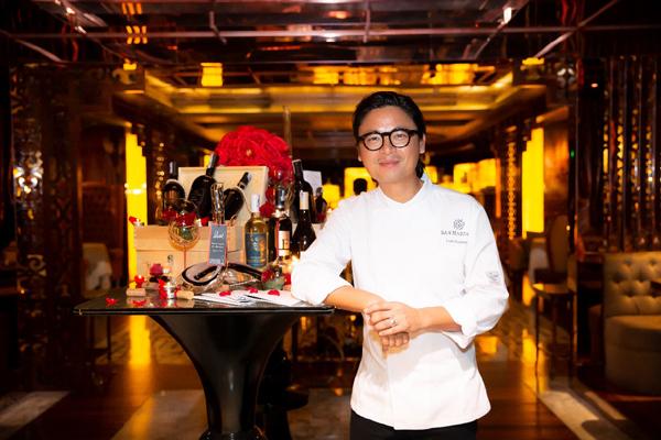 'Bữa tối tuyệt vời' với thực đơn ngẫu hứng của đầu bếp gốc Việt Luke Nguyễn