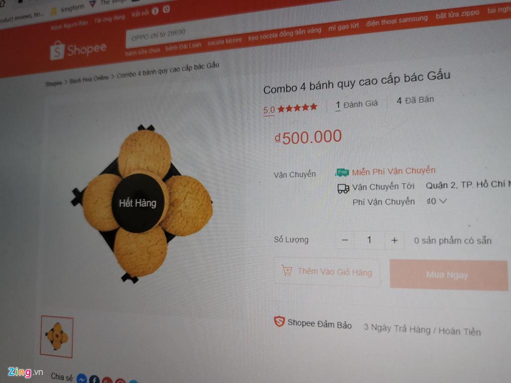 Shopee có thể bị phạt 500 triệu nếu 'bánh cần sa' còn được bán