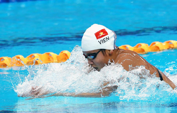 Anh Vien falls short in individual medley at FINA World Championship