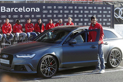 Chia tay, Audi đòi lại xe sang đã tặng các cầu thủ Barcelona