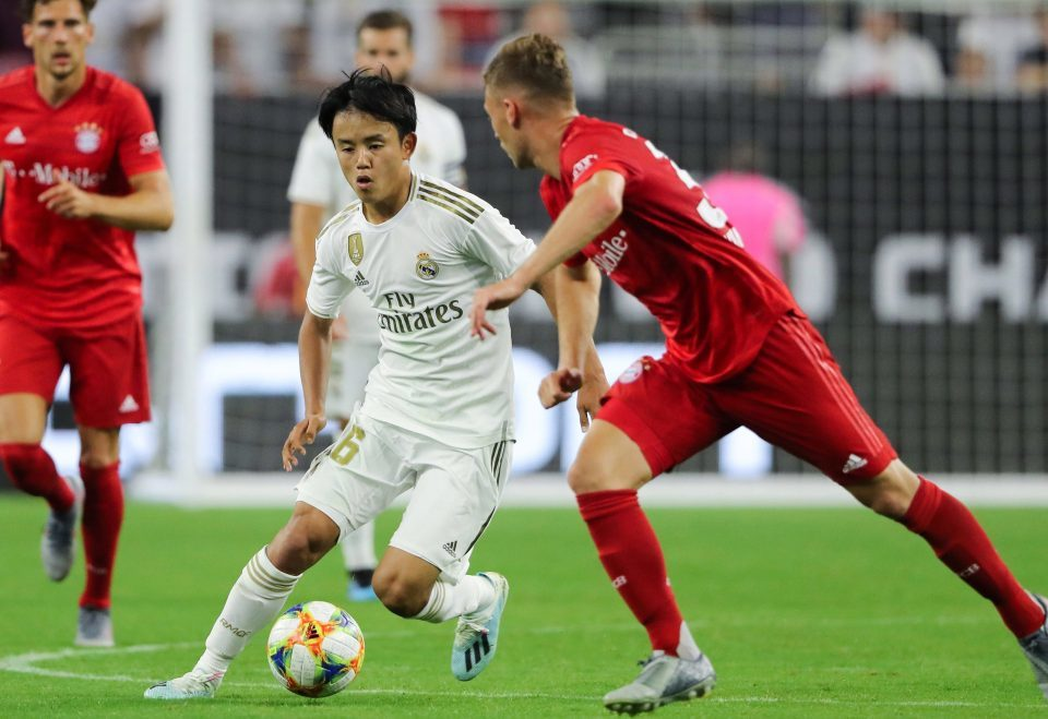Takefusa Kubo,Real Madrid