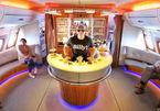 6 quầy bar sang trọng trên phi cơ của các hãng hàng không cao cấp