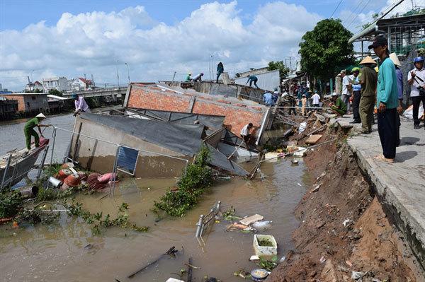 Anti-erosion infrastructure must be upgraded before rainy season: deputy minister