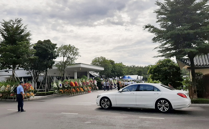 Tang lễ cựu chủ tịch BIDV Trần Bắc Hà tại Đồng Nai
