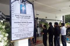 Cựu chủ tịch BIDV Trần Bắc Hà đã được an táng tại Đồng Nai