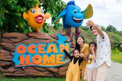 Trẻ thỏa sức tận hưởng 'kỳ nghỉ đại dương' ở Vinpearl