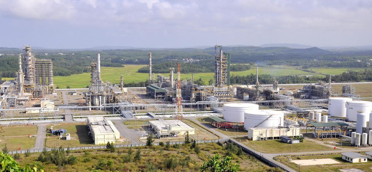 Lọc dầu dung quất,lọc dầu,nhập khẩu dầu thô,dầu thô,Lọc hóa dầu Bình Sơn