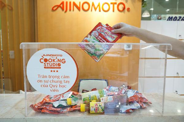Tập đoàn Ajinomoto hướng đến mục tiêu không xả thải nhựa