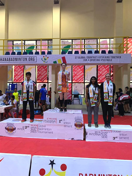 Trang wins gold, Minh takes bronze from JE Wilson International