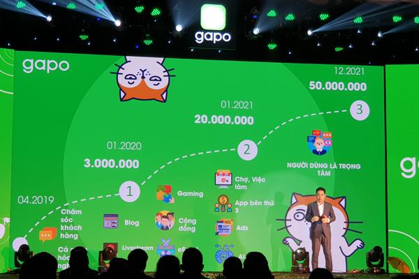 Gapo,Mạng xã hội,Make in Vietnam,Cách mạng Công nghiệp 4.0,Kinh tế số,Hệ sinh thái số