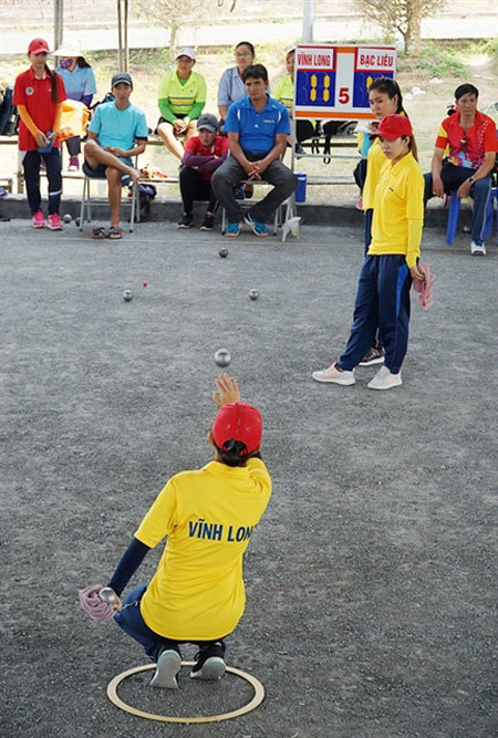 National youth petanque champs begin in Hanoi