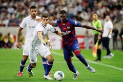 Barca 0-0 Chelsea: Pulisic làm lu mờ Griezmann (H1)