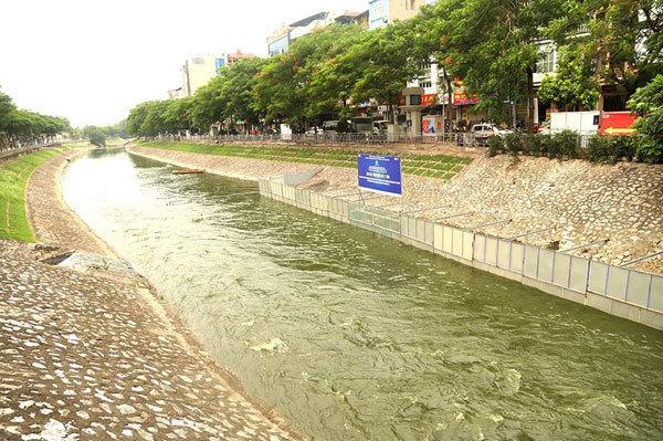 'Chúng tôi không phá việc thử nghiệm làm sạch sông Tô Lịch của Nhật'
