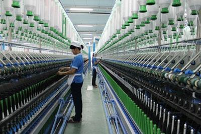 Doanh nghiệp ngành sợi tích cực sản xuất, gia tăng sản lượng