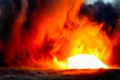 Israel dội tên lửa xuống vị trí chiến lược của Syria