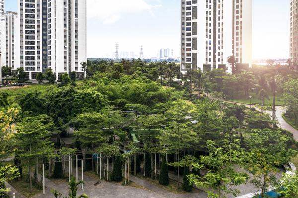 Cuộc sống xanh ở Hồng Hà Eco City