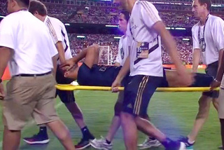 Cầu thủ Real Madrid khóc ngất vì dính chấn thương nặng