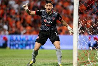 Vietnamese goalkeeper named in Thai league's team of week