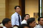 Chủ tịch Hà Nội Nguyễn Đức Chung phê bình Giám đốc Sở TN&MT