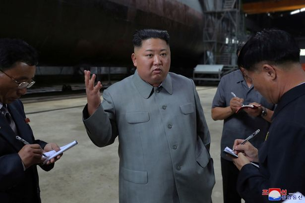 Triều Tiên,Kim Jong Un,tàu ngầm,hải quân,Xô Viết