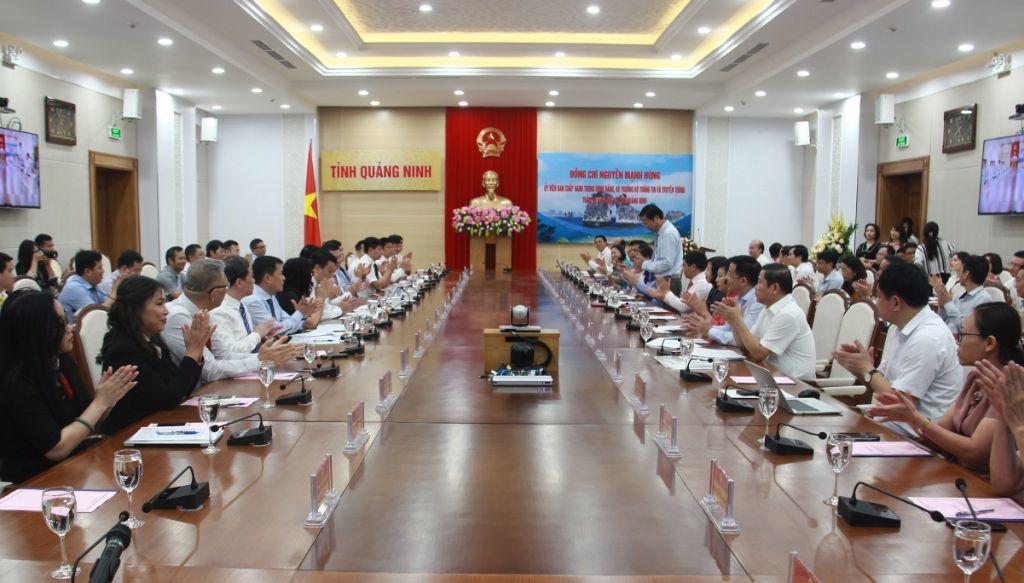 Bộ TT&TT,Quảng Ninh,chuyển đổi số,chính quyền đ