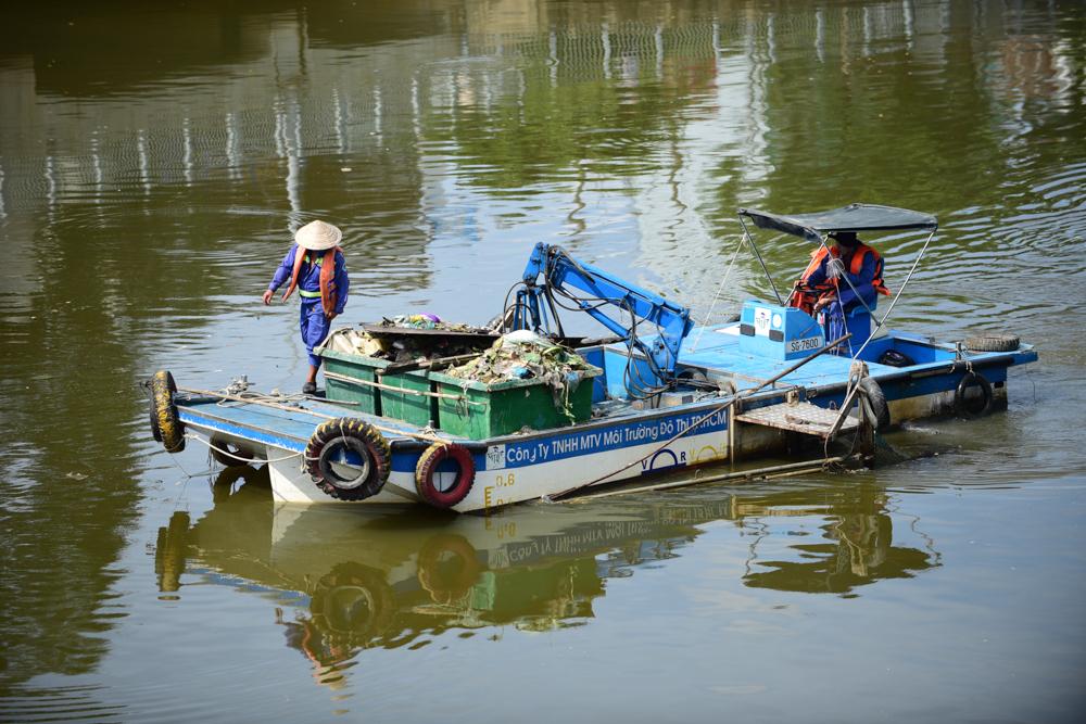 kênh Nhiêu Lộc -Thị Nghè,ô nhiễm môi trường,cá chết,sông Tô Lịch