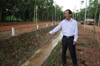 Hiến mảnh đất trị giá hàng tỷ đồng để làm đường