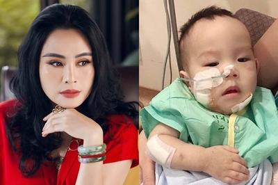 Thanh Lam kêu gọi hơn 1,2 tỷ đồng ghép tủy cho con trai ca sĩ Minh Hiền