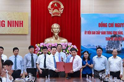 Bộ TT&TT hỗ trợ Quảng Ninh phát triển chính quyền điện tử, đô thị thông minh