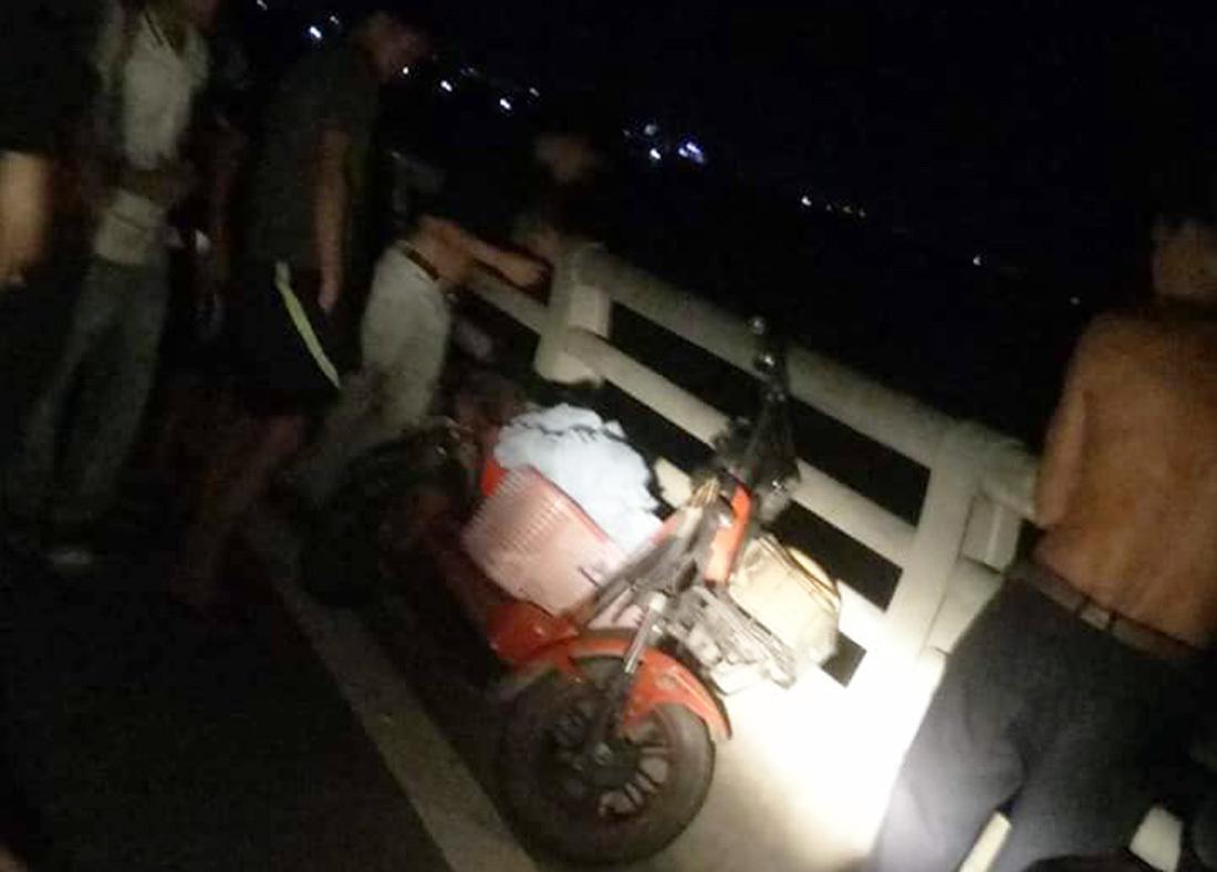 Cô gái Nghệ An gieo mình xuống sông Lam, để lại giỏ quần áo