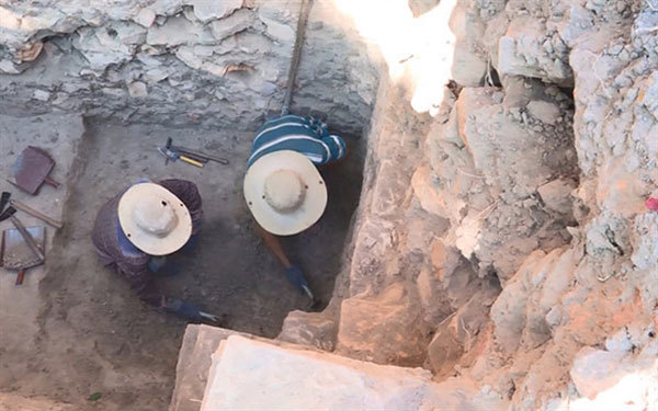 Ancient Cham tower excavated in central province