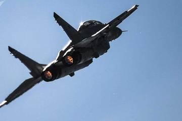 Chiến đấu cơ MiG-29 rơi xuống biển, phi công mất tích