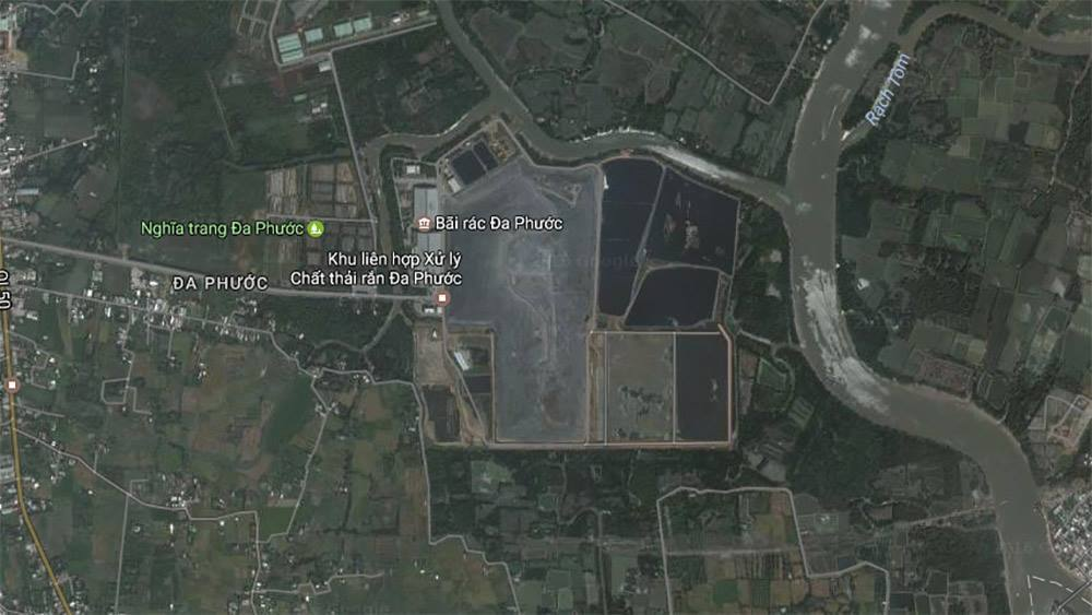 Chủ bãi rác Đa Phước kêu oan vì bị tố gây ô nhiễm khu Nam Sài Gòn