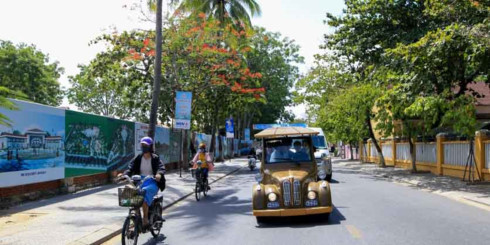 Over 100 electric cars to put into operation in Hoi An