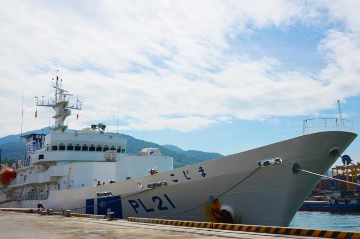 Tàu lực lượng bảo vệ bờ biển Nhật Bản cập cảng Đà Nẵng
