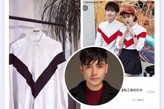 Chưa hết ồn ào vi phạm hình ảnh Trương Thế Vinh, áo của Tùng Anh lại bị tố đạo nhái