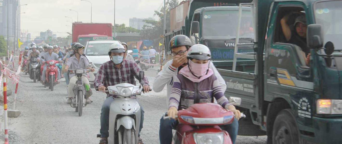 air pollution,MONRE,AQI