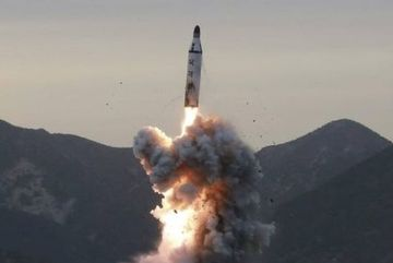 Lần thứ hai trong tuần, Triều Tiên phóng loạt vật thể
