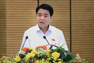 Chủ tịch Hà Nội xin phép vắng mặt tiếp xúc cử tri