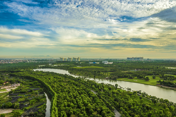Căn hộ Ecopark: mua 1m2, hưởng 4,2m2 cảnh quan tiện ích