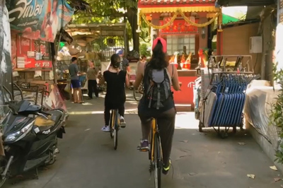 Khám phá một Bangkok khác lạ qua hành trình du lịch bằng xe đạp