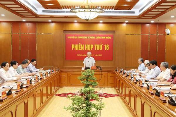 Tổng bí thư,Chủ tịch nước,Nguyễn Phú Trọng,chống tham nhũng