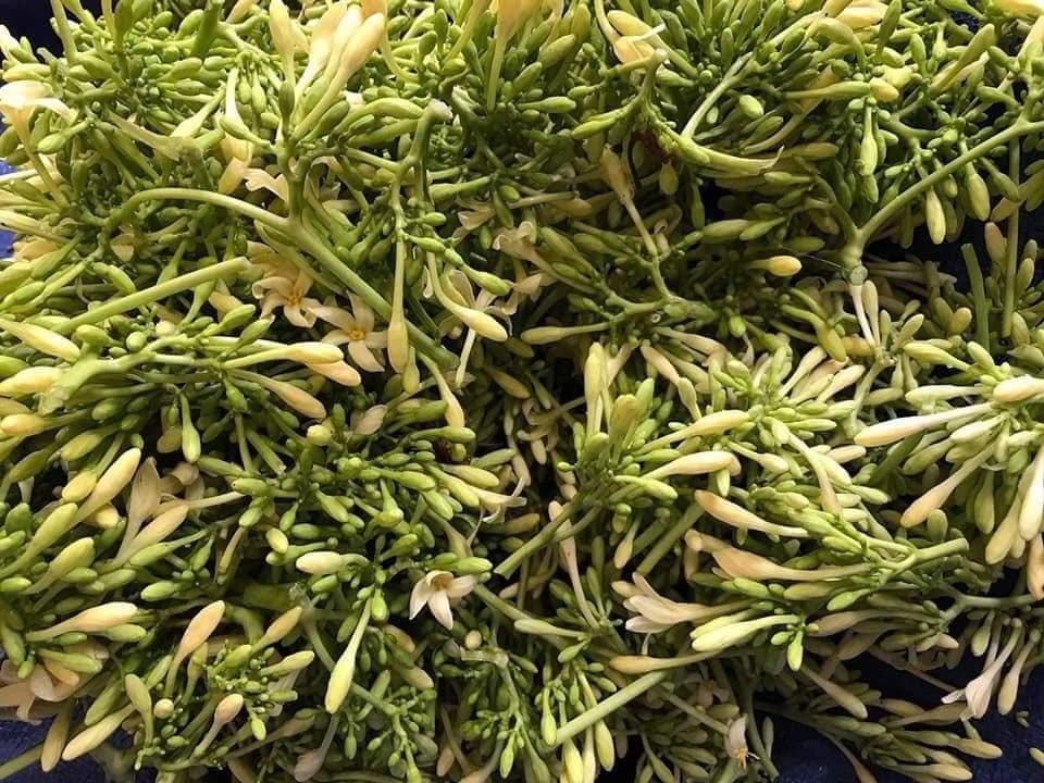 Loại hoa thường cắt bỏ đi sấy khô thành đặc sản 1,5 triệu/kg