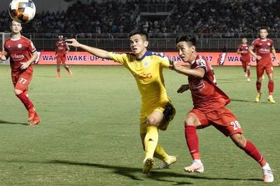 BXH V-League 2019 mới nhất: HAGL hưởng từ SLNA