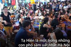 Tạ Hiện - khu phố đêm 'hái ra tiền' ở Thủ đô