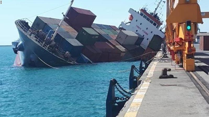 Tàu chở hàng Iran chìm ở biển Caspi