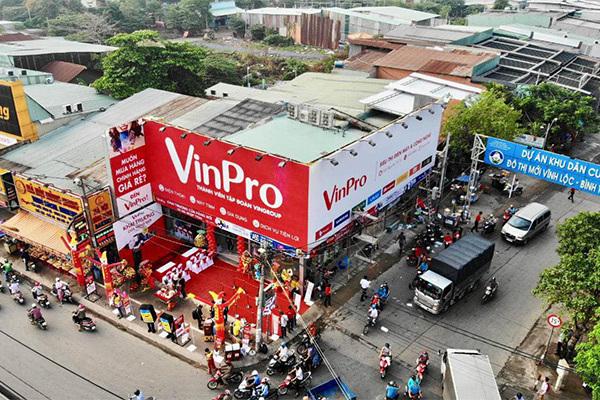 Điện máy VinPro đồng loạt khai trương 10 cửa hàng
