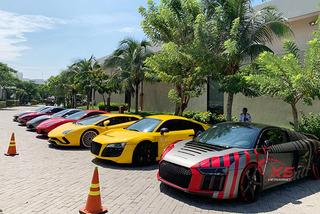Cường Đô la tham dự tiệc siêu xe trước hôn lễ với Đàm Thu Trang