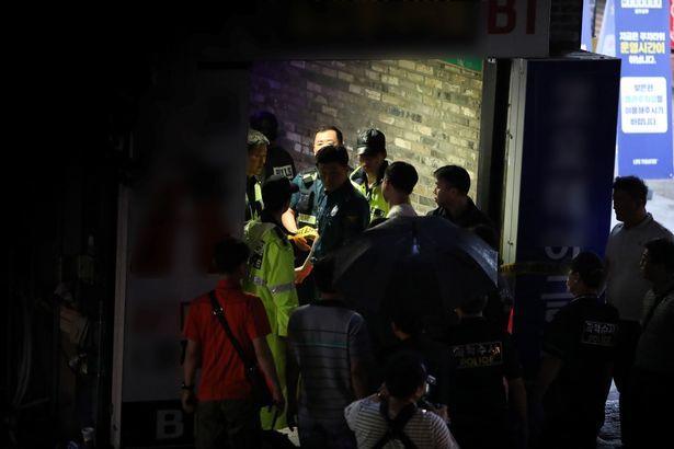 Sập hộp đêm ở Hàn, vận động viên bơi lội thế giới ngộ nạn